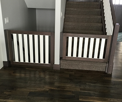 Gatekeepers Custom Wooden Safety Gates Are Not Only Strong And Reliable;  They Are Also Beautiful, As Seen In This Gallery.